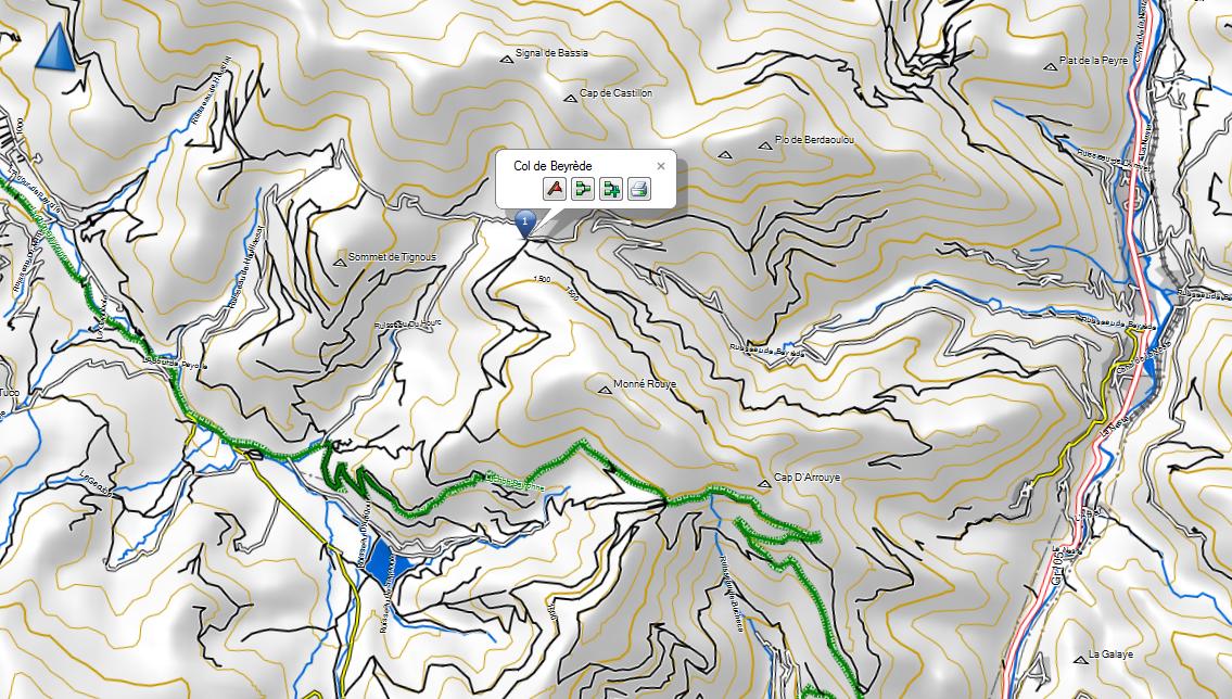 route forestière Nistos Sarrancolin ; col de Beyrede ; ca passe ? 958522CaptureColdeBeyrde