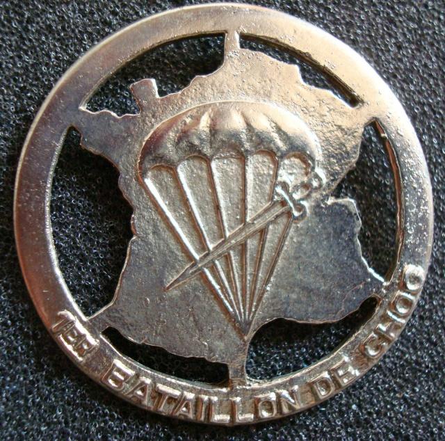 LES INSIGNES DU BATAILLON DE CHOC 1943/1963. 958619N28BretlocalIndo
