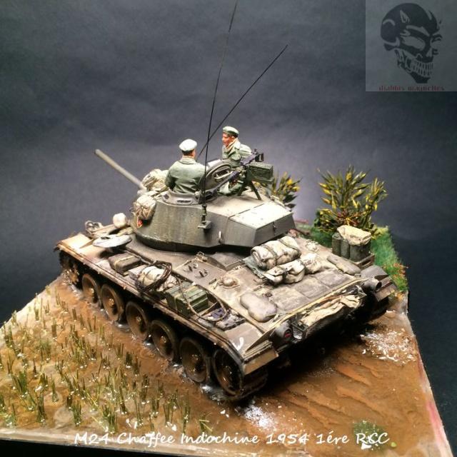 M24 Chaffee Indochine 1954 1ére RCC  960392IMG3740