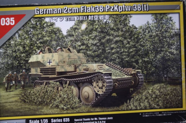 sd.kfz 140 flakpanzer (gépard) maquette Tristar 1/35 962629IMG1629