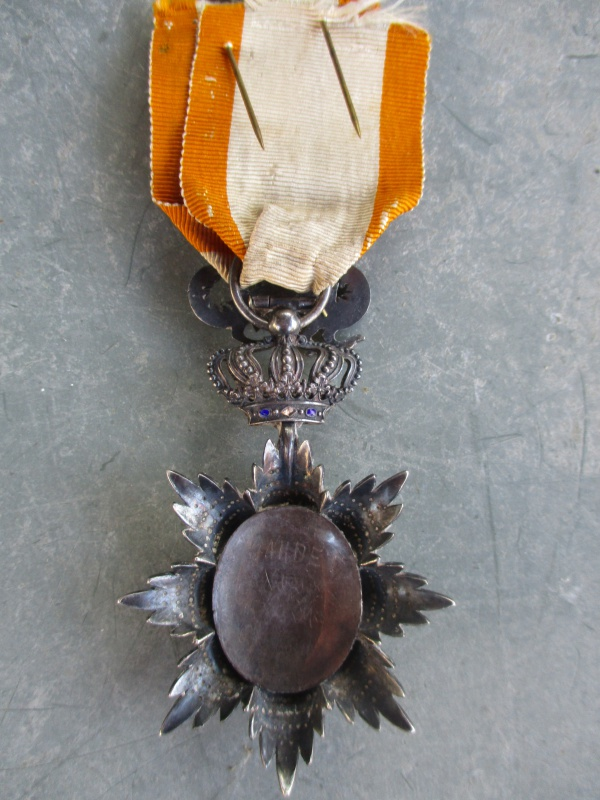 Médaille de Chevalier du Dragon d'Annam avec une belle attribution 962865IMG0852