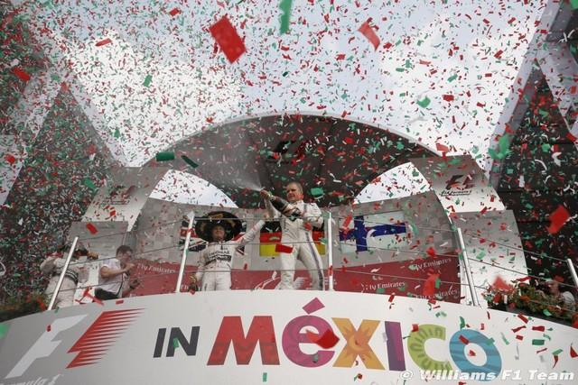F1 GP du Mexique  2015 : Victoire de Nico Rosberg  9649912015ValtteriBottas1