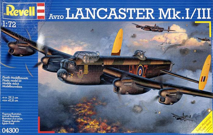 Lancaster MKIII  72em 965249revell04300reviewbg1
