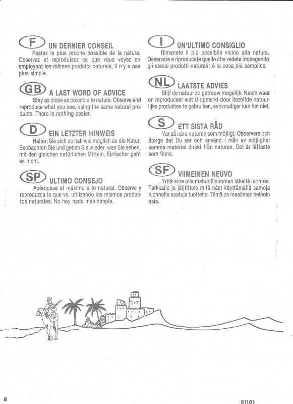 Diorama KOUFRA 1/35ème Réf 81101 965590Heller81101011DioramaKoufra135