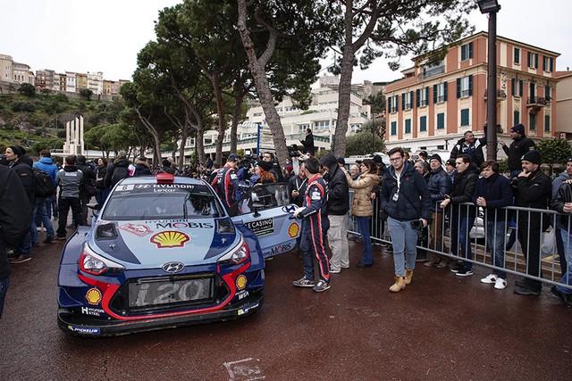 Rallye Monte Carlo Une Victoire En Power Stage pour Consoler Hyundai Motorsport  9659062017MONTECARLOSV240