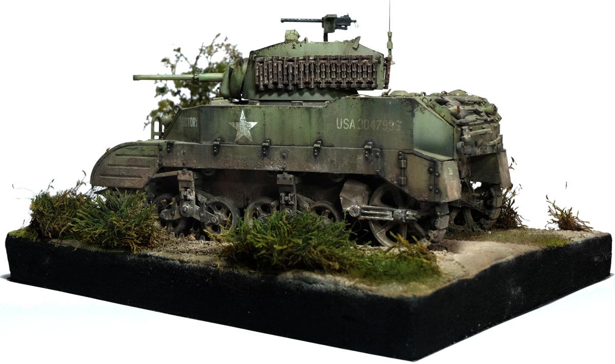 M5A1 stuart Tamiya 1/35 966071stuartdiowb12