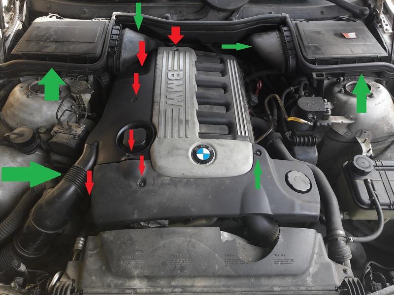 [BMW 530 d E39] Réparation raccord canneler sur pompe HP 97023420170128135731