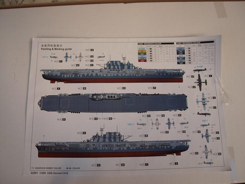 USS Hornet cv8 au 1/200° 971909P9175088Copier