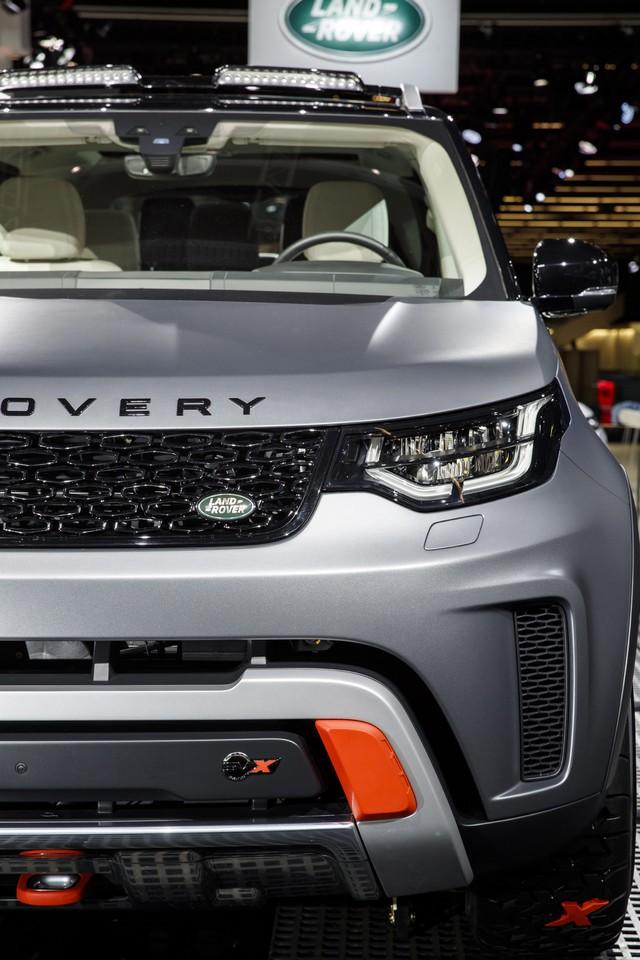 Nouveau Discovery SVX : Land Rover dévoile son champion tout-terrain au Salon de Francfort 972382jlrfrankfurt2017041