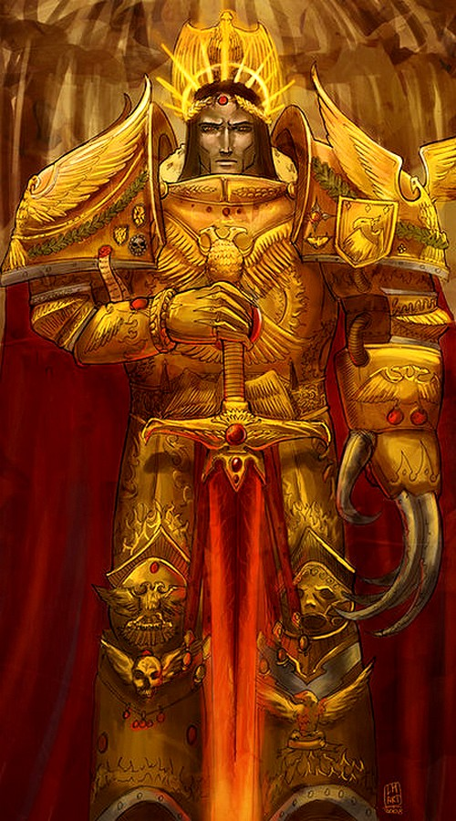 [Horus Heresy] The Emperor of Mankind by Aaron Dembsky Bowden 973961emperorofmankind2