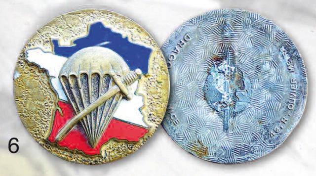 LES INSIGNES DU BATAILLON DE CHOC 1943/1963. 974496DragoOM
