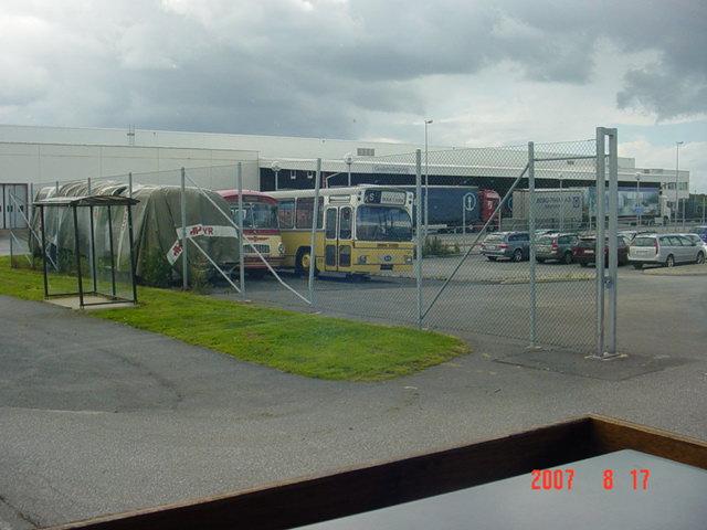 Volvo bus chez Aral 975162zzz9052