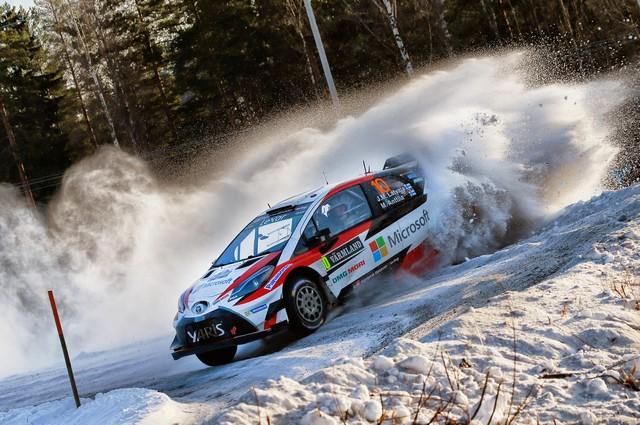 Jari-Matti Latvala Gagne En Suède Avec La Yaris WRC Et Prend La Tête Du Championnat Du Monde 975174AL20170025971