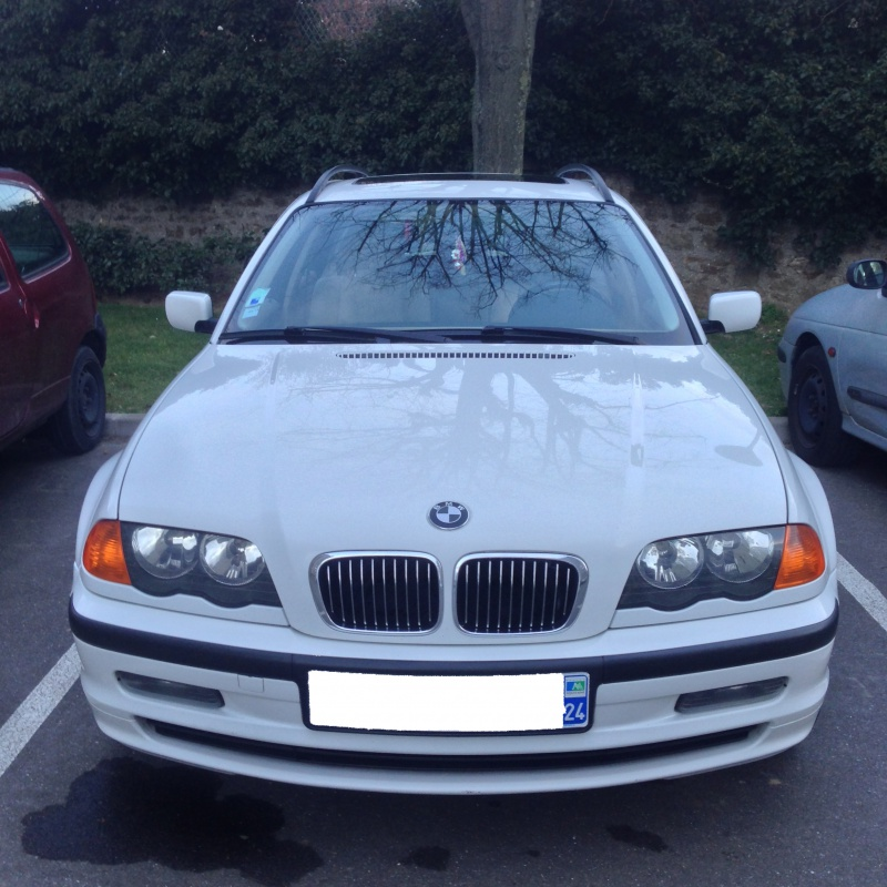 Ma nouvelle acquisition une BMW 320iA Touring 975202IMG5204
