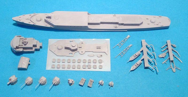 Création et fabrication d'un bateau au 700ème en scratch intégral 976368Bausatz2