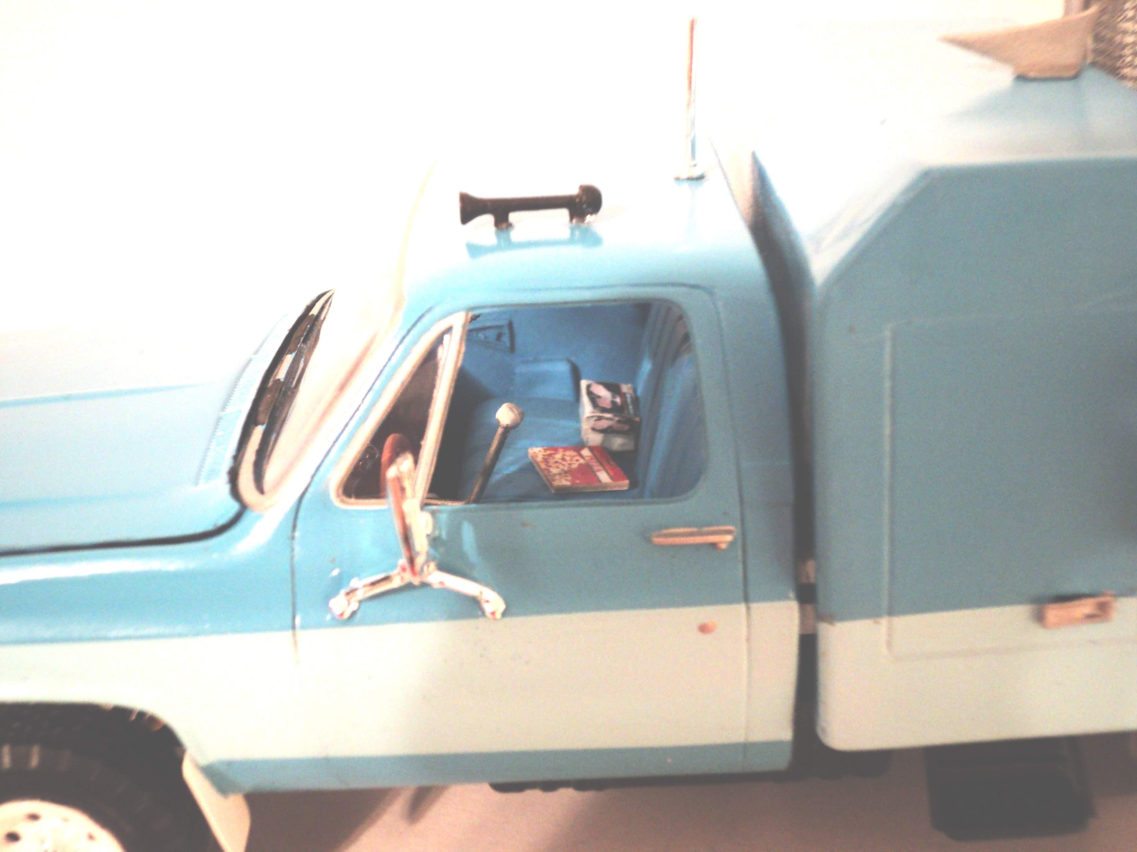 """1977 GMC pickup """"zoo taxi"""" 9764781977GMC007"""