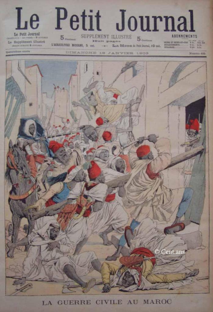 صفحات من تاريخ المغرب الحديث من خلال Le Petit journal illustré 977011pj63518011903