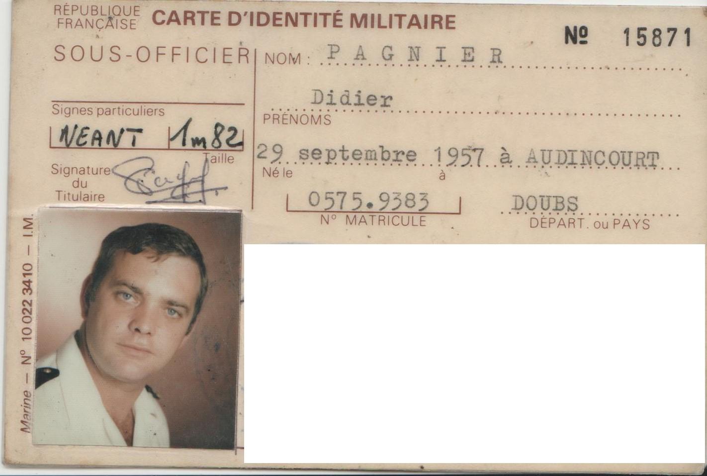 [ Blog visiteurs ] Recherche des anciens amis de mon mari Didier Pagnier 977893DidierPagnier