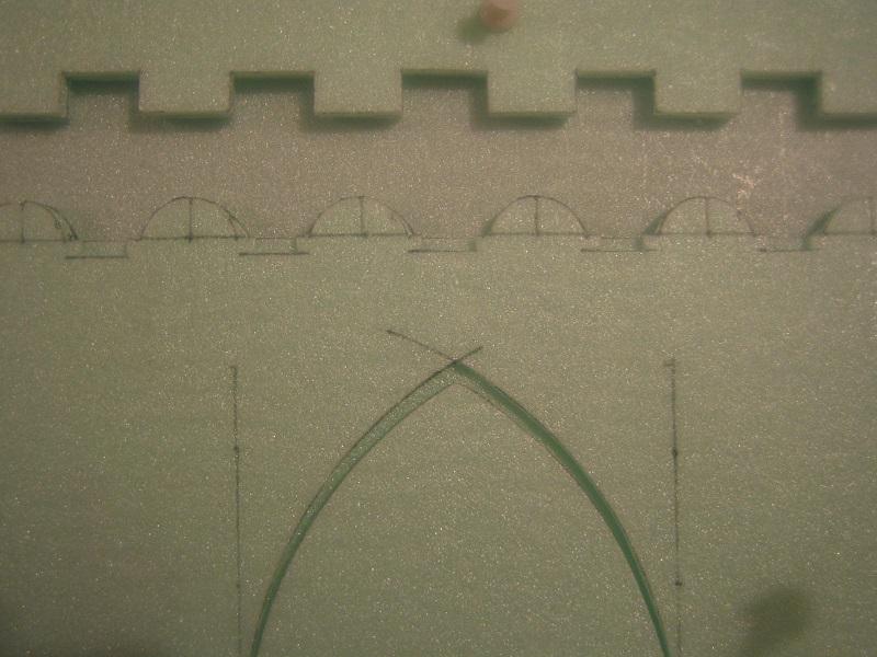 [Tuto] Remparts en plâtre - Moule en polystyrène 978216TECMordheim34