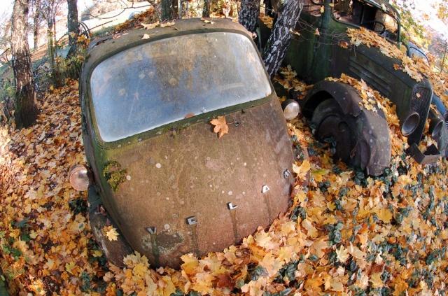 Les voitures abandonnées/oubliées (trouvailles personnelles) - Page 2 978413DSC051544