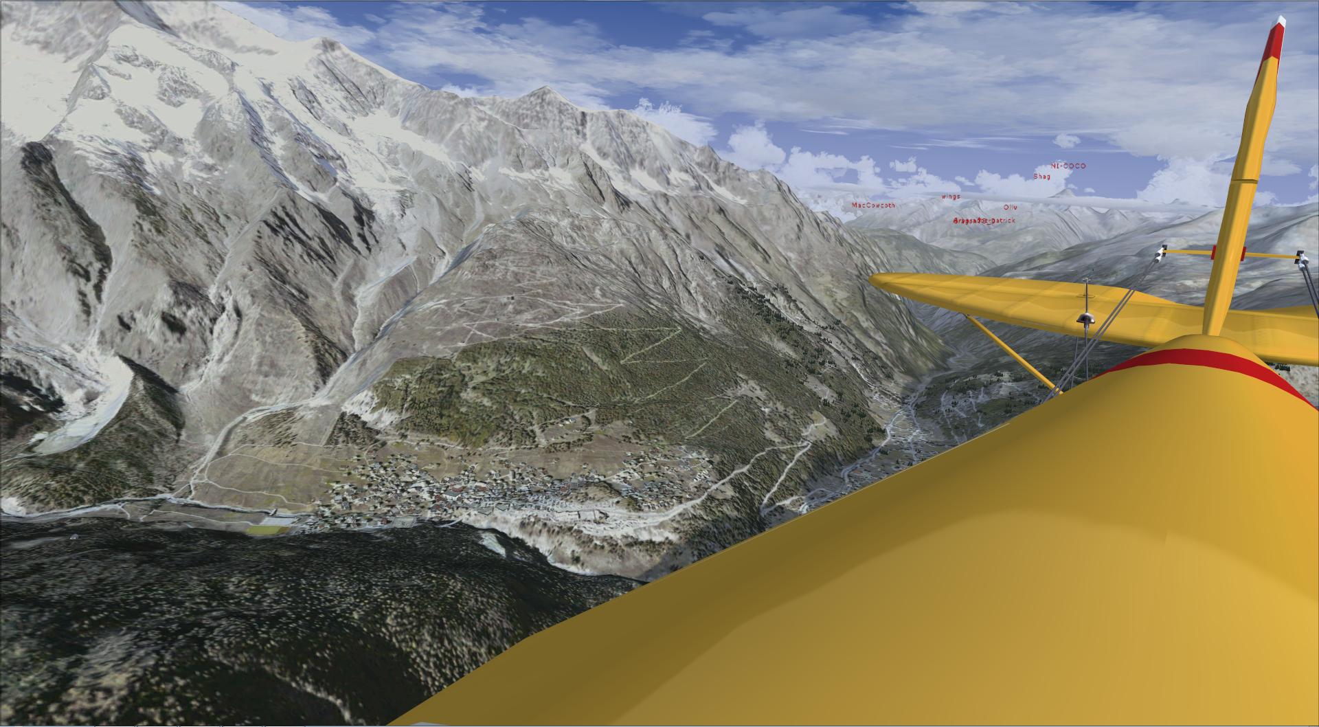 Compte rendu aéroclub. Le passage des alpes 979018201497112314851