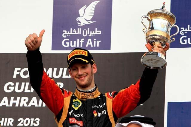 F1 GP de Bahreïn 2013 : Victoire Sebastian Vettel 9809562013RomainGrosjean2