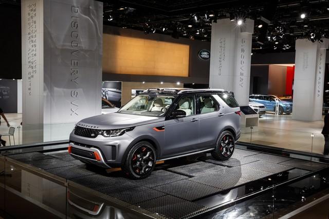 Nouveau Discovery SVX : Land Rover dévoile son champion tout-terrain au Salon de Francfort 981670jlrfrankfurt2017033
