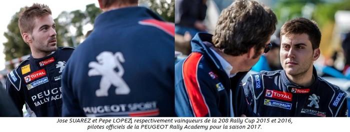 Objectif ERC 2017 Pour Les Juniors De Peugeot Sport 981682Josesuarezetpepelopez1
