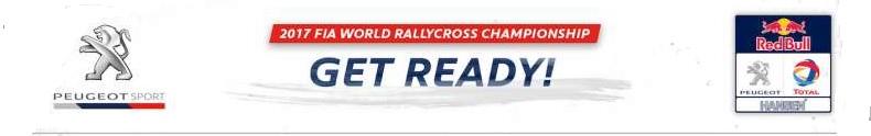 Rallycross -Les PEUGEOT 208 WRX dans l'arêne 982272getready