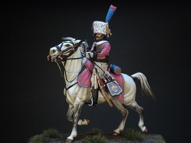 Trompette des chasseurs de la Garde Imperiale 984133trombc9