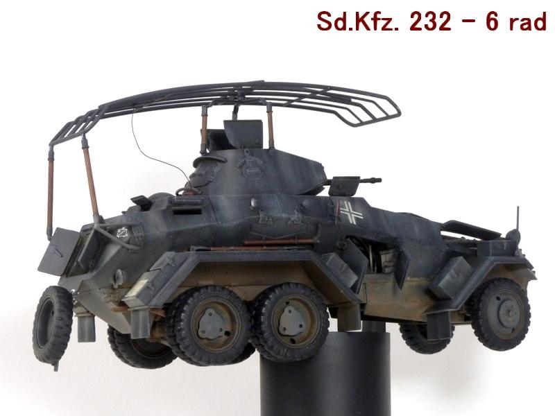 Sd.Kfz. 232 6 Rad - France 1940 - Italeri 1/35 986408P1040096