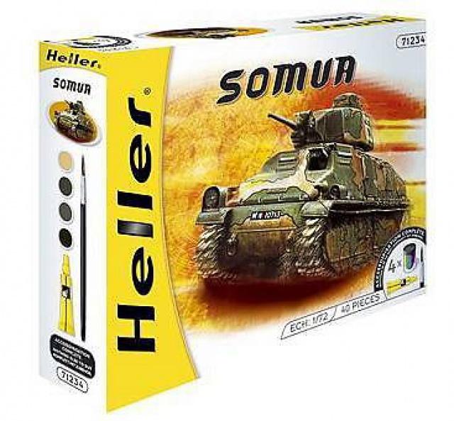 Char d assaut SOMUA S 35 1/72ème Réf 197 987509122