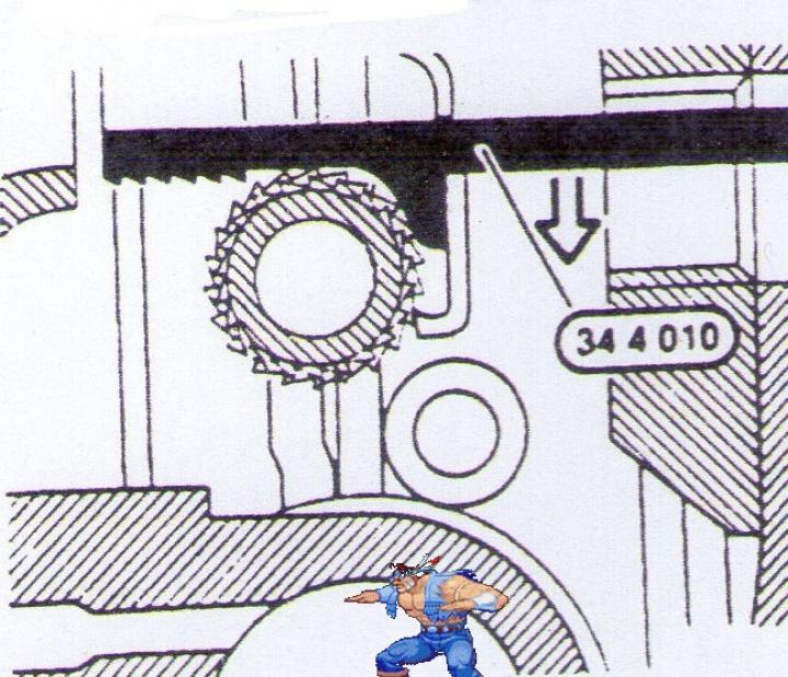[BMW 316i E36 M40 1992] Tutoriel + photos freinage arrière tambours (résolu) 99116464Outil3440010