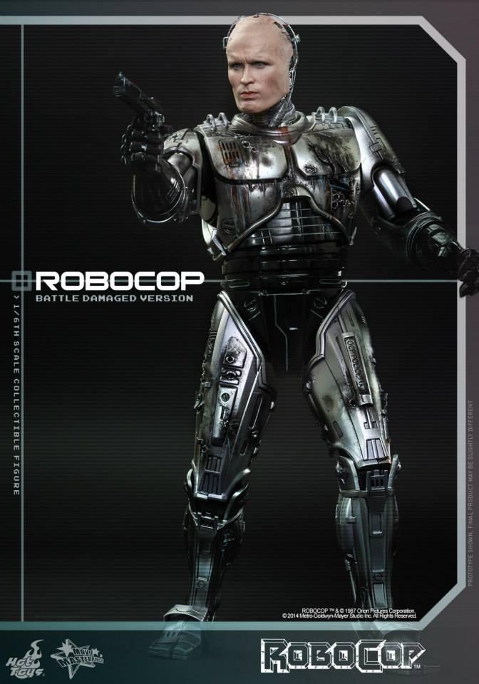 HOT TOYS - Robocop - Robocop (Battle Damaged Version) 991386109
