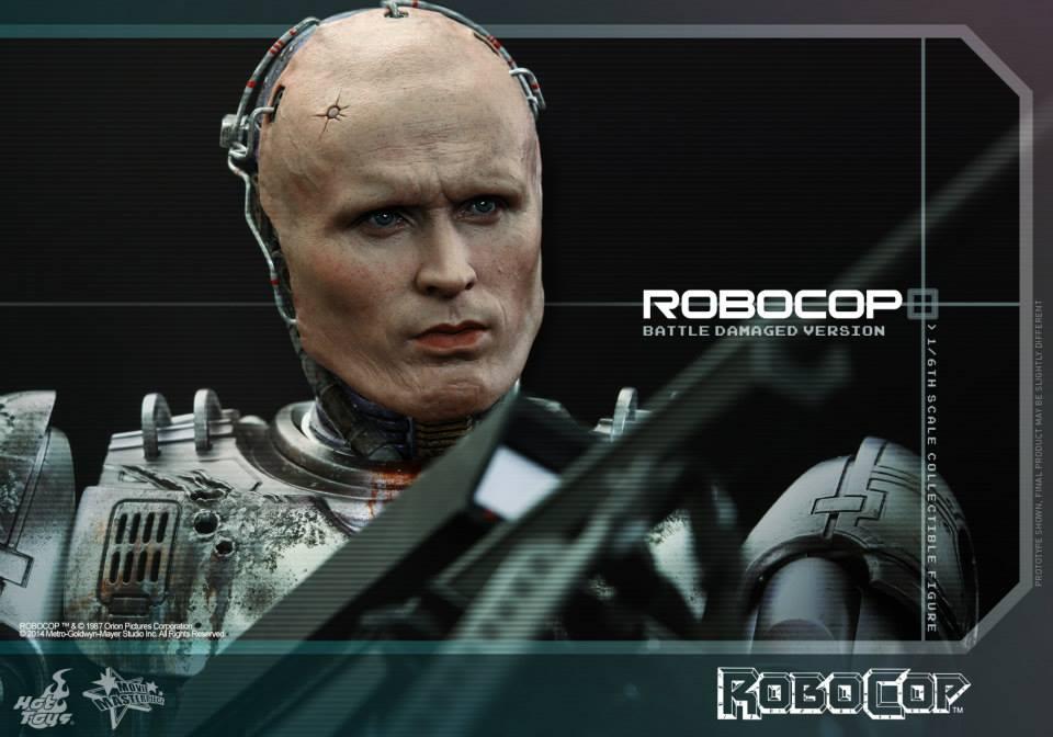 HOT TOYS - Robocop - Robocop (Battle Damaged Version) 991797115