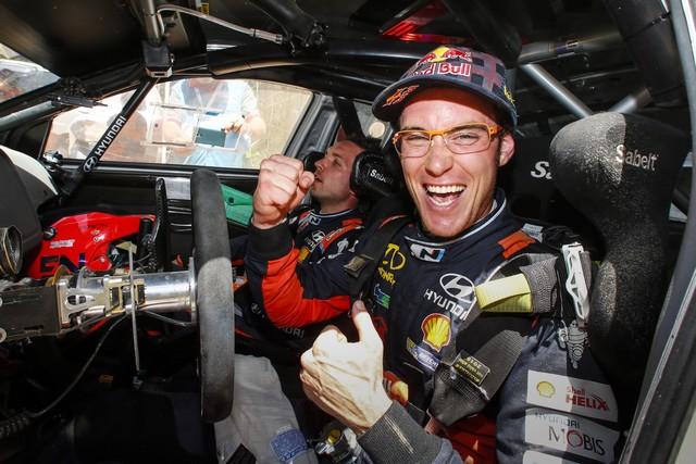Rallye d'Australie Un ultime podium pour Hyundai Motorsport et la deuxième du championnat pour Thierry Neuville 9918851438podiumfinaleforhyundaimotorsportasneuville