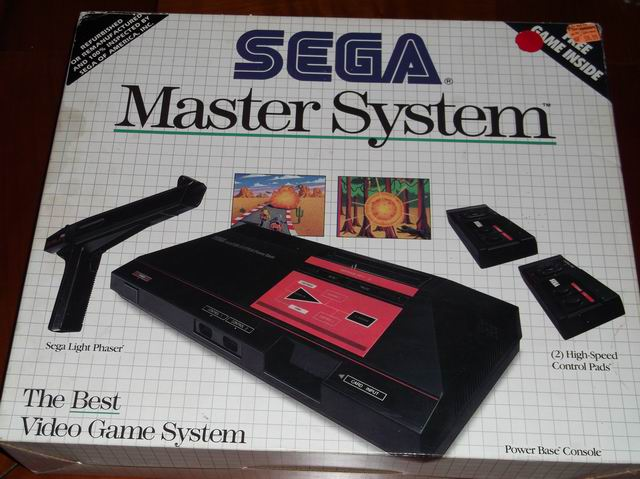 Publicité sur pack Master system un 99207457692620