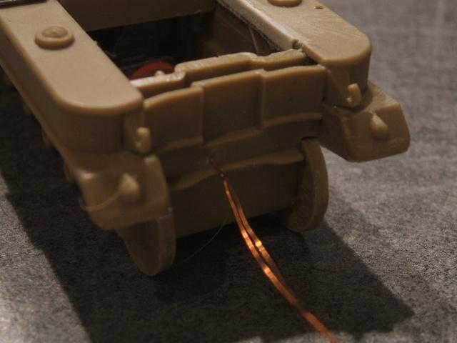 SdKfz 2 Kleines Kettenkraftrad [TAMIYA] [montage terminé] avec remorque transport de bombes [scratch] [terminé] 992323DSCF6873