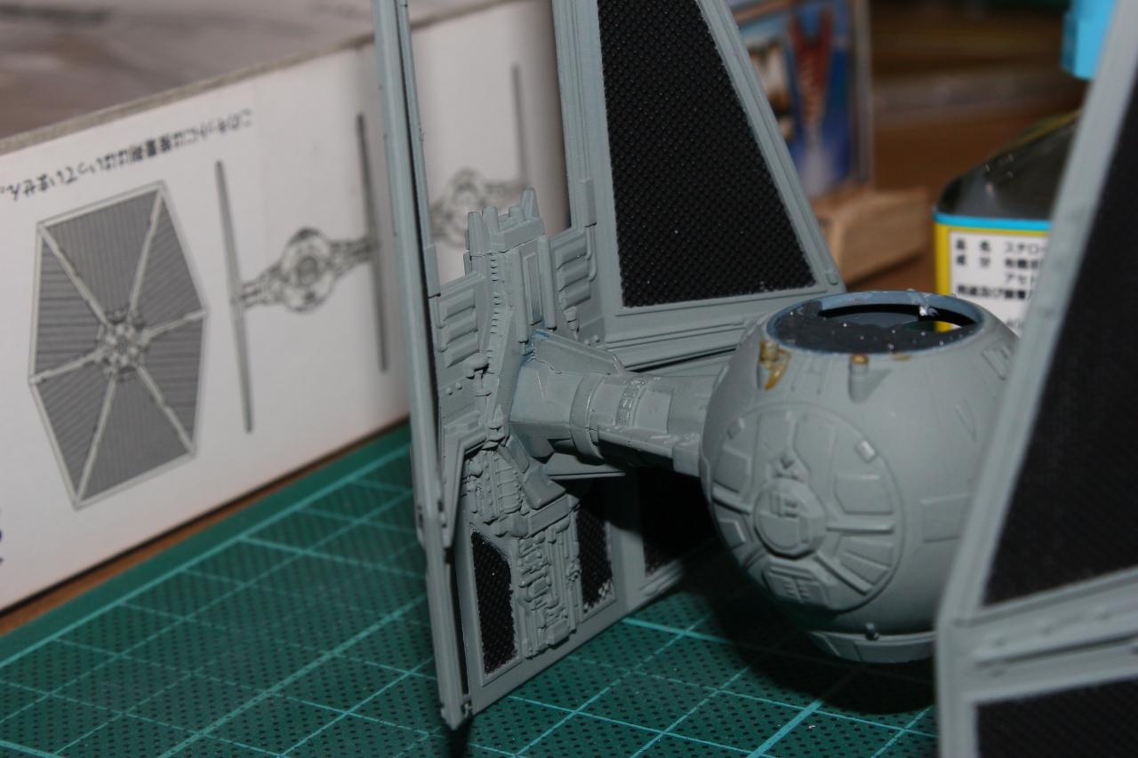 Star Wars [Tie Interceptor] FineMolds 1:72 992339DPP2016