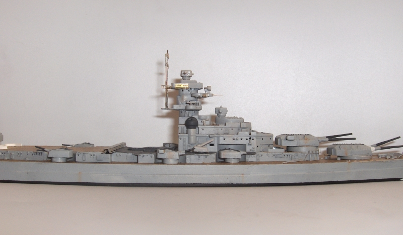 Bismarck 1/700 [Trumpeter] 992371HPIM2002