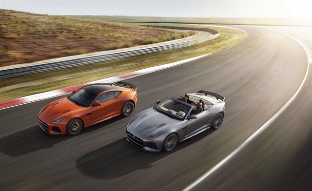 Nouvelle Jaguar F-TYPE SVR : La Supercar Capable D'atteindre 322 km/h Par Tous Les Temps 993051JAGUARFTYPESVR35RangeLowRes