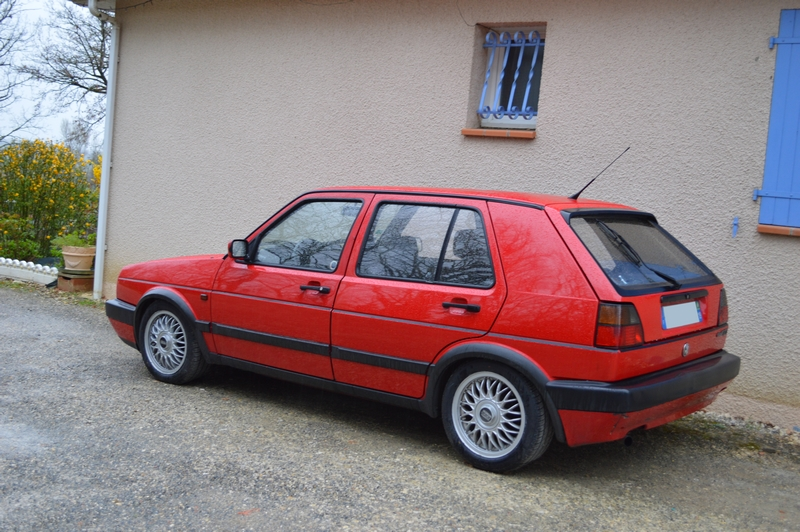 [Golf 2 GTD 1989 Rouge Tornado] Mon Nouveau Daily 993196DSC1629
