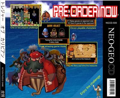Un nouveau jeu AES Treasure Of The Caribbean 996157preorder2