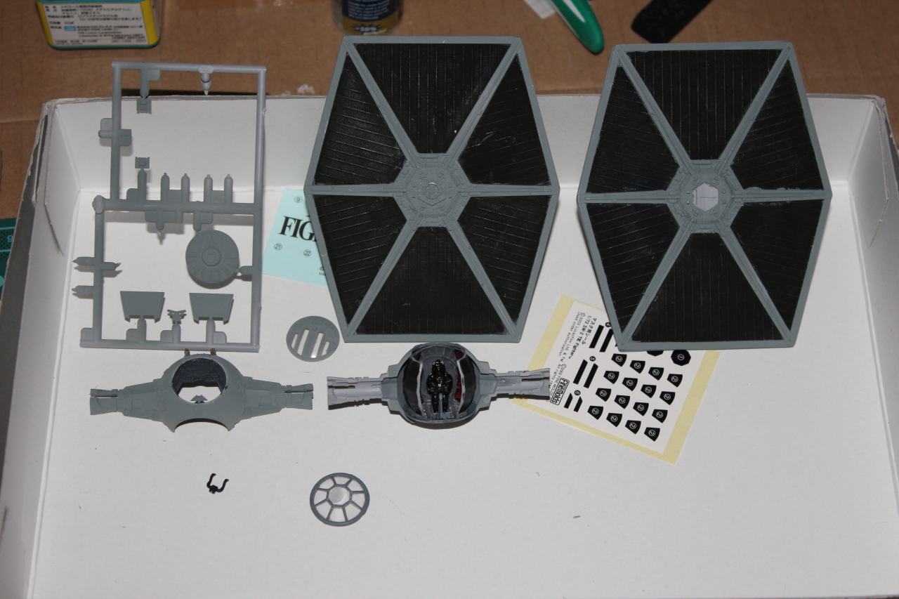 Star Wars [Tie Fighter] Fine Molds 1 : 72 997300DPP2009