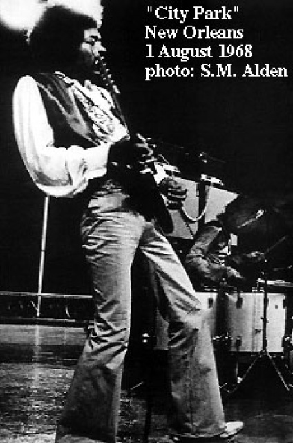 New Orleans (City Park Stadium) : 1er août 1968  99838819680801NewOrleans03