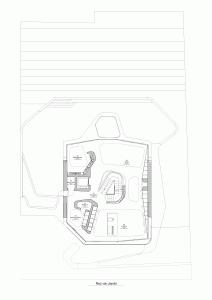 """Challenge thème : """"modélisation et rendu d'une maison atypique"""" - Silk37 & SB - ArchiCAD 17 - 3DS/V-Ray - Photoshop Mini_11853601RezdeJardin"""