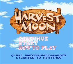 Harvest Moon - Fiche de jeu Mini_153927971
