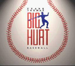 Frank Thomas Big Hurt Baseball - Fiche de jeu Mini_157446591