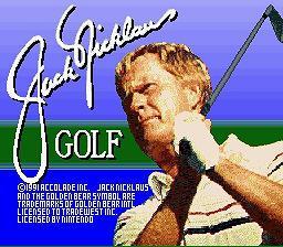 Jack Nicklaus Golf - Fiche de jeu Mini_176398331