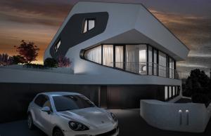 """Challenge thème : """"modélisation et rendu d'une maison atypique"""" - Silk37 & SB - ArchiCAD 17 - 3DS/V-Ray - Photoshop Mini_242765olsn"""
